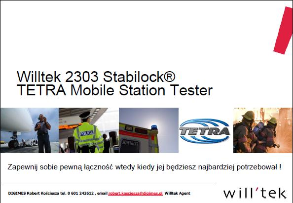 Willtek-Stabilock-2305-TETRA-Digimes-prezentacja